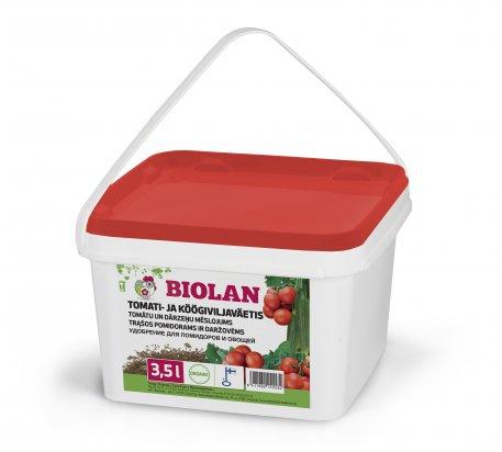 Biolan Удобрение для помидоров и овощей
