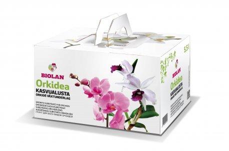 Biolan Orkideakasvualusta