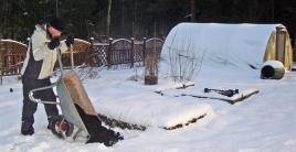 Kompostointi talvella
