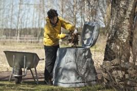 Mitä kompostiin voi/ei voi laittaa