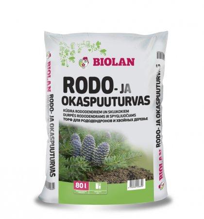 Biolan Торф для рододендронов и хвойных растений