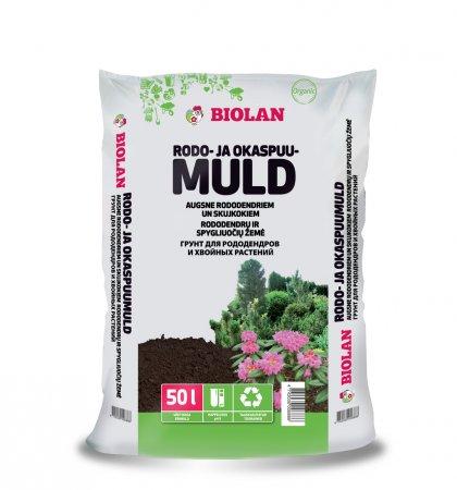Biolan Грунт для рододендронов и хвойных растений