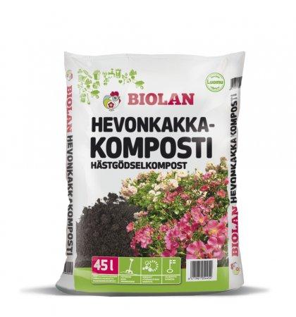 Biolan Hästgödsel Kompost